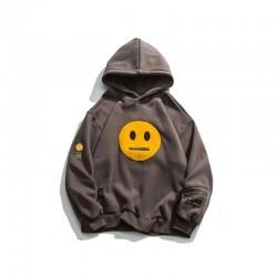 Hoodie mit Smiley - Unisex