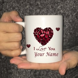 Personalisierte Tee- / Kaffeetasse - Keramik