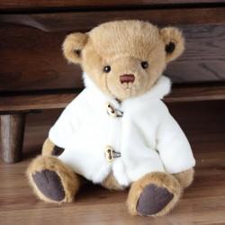 Plüsch Teddybär mit weißem Mantel - Spielzeug