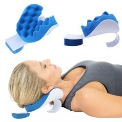 Almohada de apoyo terapéutico para el cuello y los hombros, cojín de viaje