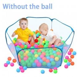Składany basen na piłeczki dla dzieci na zewnątrz i do wewnątrz