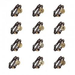Bracelet en cuir Signes du zodiaque - Unisexe