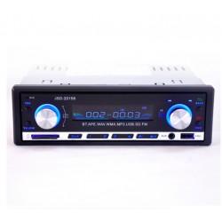 Radio de coche Bluetooth - Audio estéreo - Reproductor MP3 - USB - 4 * 60W