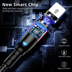 Micro usb - magnetic cable - type c - charging wire
