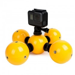 Multi-functional floating bobber - underwater omnidirectional ball - for GoPro Hero 5 4 3 / Xiaomi / SJCAM