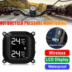 LCD Digital Display - Pressure Monitor - Motorcycle