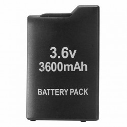 3.6V - 3600mAh - battery for PSP 1000 / 1001- rechargeable