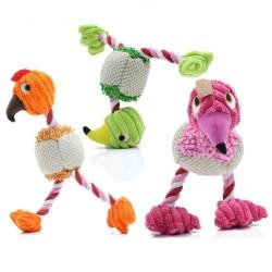 28 * 6 cm - pluche vogel - speelgoed voor honden / katten met geluid