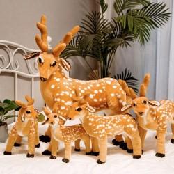 50 - 60 - 75 cm pluszowy renifer - jeleń - zabawka