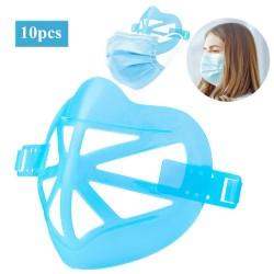 10pcs - 3D Face Mask Holder - Adult- Dustproof