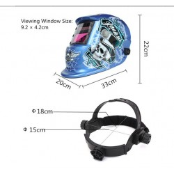 Auto Darkening Welding Helmet Speed Ghost