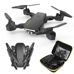 S60 Mini Drone - WIFI - FPV - 4K HD Dual Camera - 15mins Flight Time - Foldable - RTF