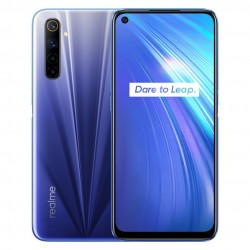 Realme 6 Global Version 6.5 inch - dual sim - FHD+ - NFC - Android 10 - 4300mA - 4GB 128GB - Helio G90T - 4G smartphone - blue
