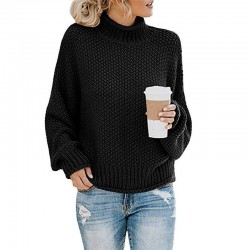 Women Sweaters - Long Sleeve - Knitted