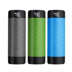 Multifunctional Bluetooth bicycle speaker - with flashlight