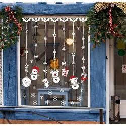 Weihnachtsdekoration - Fensteraufkleber