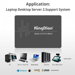 KingDian - SSD - Internal Solid State Drive - 2TB - 1TB