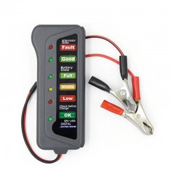 12V 6 LED cyfrowy samochodowy tester baterii - alternator