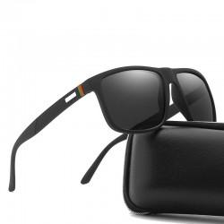 Polarisierte quadratische Sonnenbrille - UV400