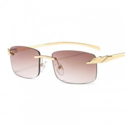 Rectangle sunglasses - uv400