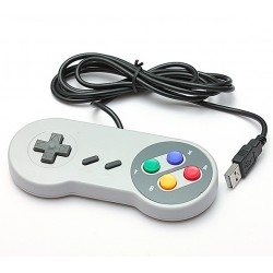 USB-controller joystick voor retro-games - voor Mac Linux Windows - SNES