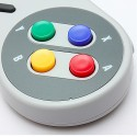 USB SNES Styl PC/Mac Kontroler