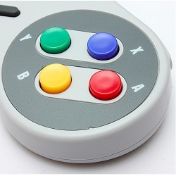 USB SNES style PC laptop Mac game controller joystick