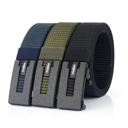 Tactical army belt - military - automatic buckle - nylon - 125 cm