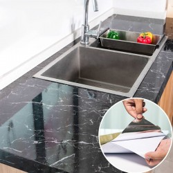 Modern kitchen furniture sticker - self-adhesive tape - waterproof - oil proof - marble pattern