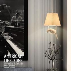 Bird Chandeliers - Led Lamps - Retro Art - E27