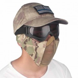 Airsoft Paintball Masks - Nylon Ear - Protection - Portable