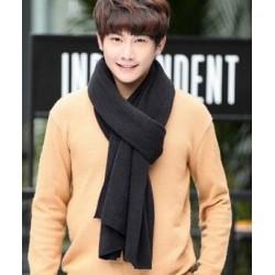 Bufanda de hombre de algodón cálido