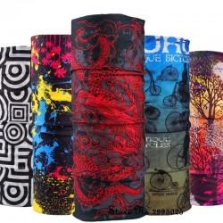 Foulard multifonctionnel - couvre visage / tête / cou - bandana imprimé