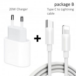 PD 20W - USB-C C2 - 5V 9V 2.2A - fast charger - EU plug