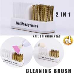 Cleaning Nail Brush - Drill Bits - Grinding Head