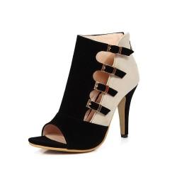 Women - spring - high heels - red - black- blue