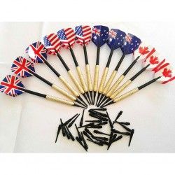 Professional darts - with extra plastic tips - for electronic dartboard - 12 pieces