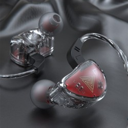 QKZ AK9 - wired earphones - noise cancelling
