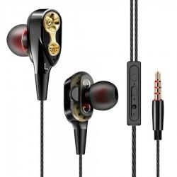 Kabelgebundene 3,5-mm-In-Ear-Ohrhörer - Stereo-Headset mit Mikrofon