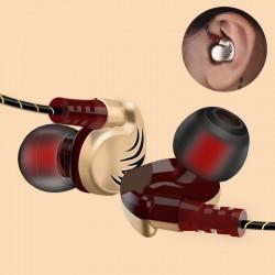 3,5 mm - Sportkopfhörer - Kabel - Super Bass - Headset mit Mikrofon