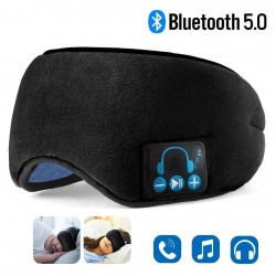 Bluetooth - wireless headphones - sleeping eye mask with microphone