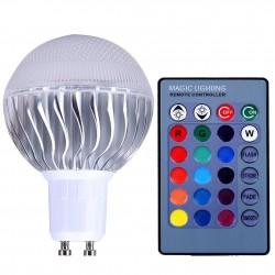 5W - RGB - E27 - GU10 - E14 - MR16 - LED-Lampe - Fernbedienung - Dimmer