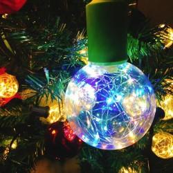 E27 1.7W - Bombilla LED RGB - regulable - Decoración navideña