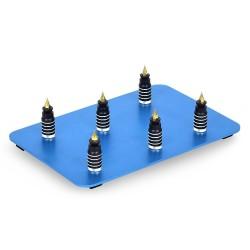 Magnetic PCB board - stainless steel base - soldering / welding repair tool