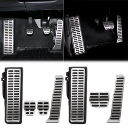 Car pedals set for Volkswagen Golf 5 6 MK5-6 Jetta Scirocco CC TIGUAN Touareg Skoda Octavia A5 - automatic & manual gearbox