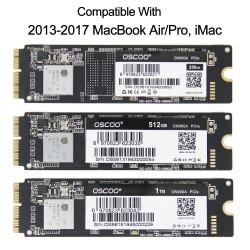 256GB - 512GB - 1TB - Memoria SSD para Macbook Air A1465 A1466 Macbook Pro Retina A1502 A1398 iMac A1419 A1418