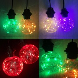 E27 - rgb - led - bulb lamp