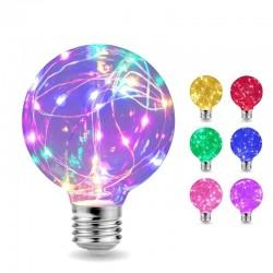 LED - edison string - light bulb - e27 - rgb