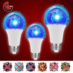 E27 - 5W - 7W - 10W - UV-Lampe - LED - keimtötende Lampe - Sterilisator - Desinfektion - Milbenentferner