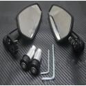 Universeel Motor Aluminium Bar End Spiegels
